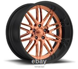 24 Pro Wheels Rims Bronze Black Formula Forged Billet Aluminium Custom Offset