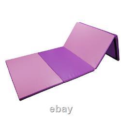 4'x8'x2 Gymnastique Gym Exercice Pliant Aérobics Tumbling Jeu Tapis De Yoga