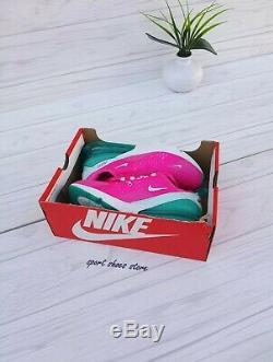 5y 6.5 Femmes Nike Air Max 270 Blanc Rose Vert Courir Casual Cj9979 300