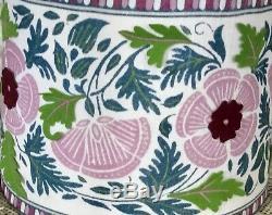 Abat Floral Anthropologie Feutre Rose Ivoire Appliqué Garniture Vert 12 M Nouveau