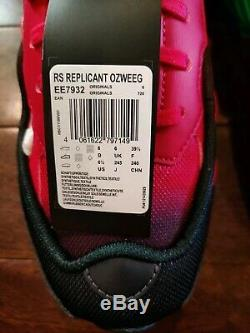 Adidas Rs Raf Simon Replicant Ozweego Vert Rose Ee7932