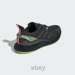 Adidas X90004d Shoes Chaussures Noir/pink/vert 4d Hommes Tailles Fw7093