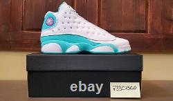 Air Jordan 13 Rétro Gs White Soar (taille 6) Aurora Green Pink 439358-100