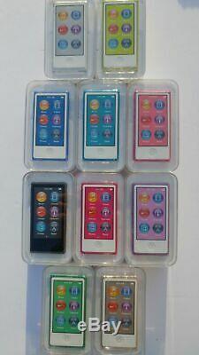 Apple Ipod Nano 7ème Gén Vert Vert Noir Argent Rouge Or Rose (16go) Neuf Scellé