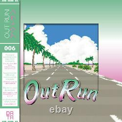 Bande Sonore Outrun Ost Vinyl Record Lp Limited Mint Vert Rose Clair (data Discs)
