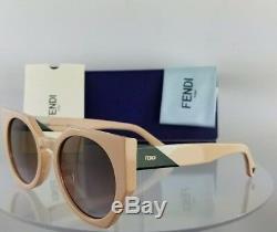 Brand New Authentic Lunettes De Soleil Fendi Ff 0151 / S 35jqr Rose Vert Cadre 0151