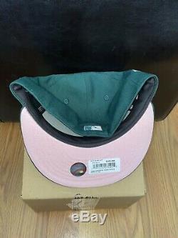 Chapeau Club Exclusif Arizona Diamondback 2001 Ws Green Egg Rose Taille Inférieure 7 1/4