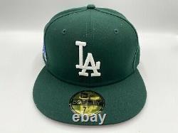 Chapeau Club Exclusif La Dodgers Rose Bas Vert / Blanc 1978 World Series 71/4