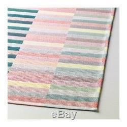 Chemin De Table Mittbit Rose Turquoise / Vert Clair 35 X 130 CM