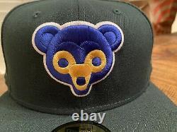 Chicago Cubs 1962 All Star Game Oeufs Verts Et Ham Nouvelle Ère Ajustée 7 3/4 Rose Uv