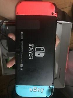 Console Nintendo Switch 32 Go Avec Consoles Neon Red / Blue / Pink / Green, + Mariokart8d