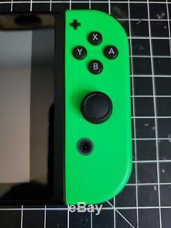 Console Nintendo Switch Atomic Violet Avec Joycons Neon Green / Pink