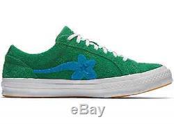 Converse Golf Le Fleur Tyler Creator Une Étoile Rose Vert Jade Bleu Vanille Solaire