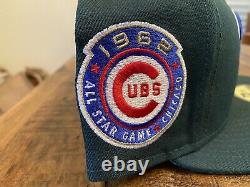 Cubs De Chicago 1962 All Star Game Green Eggs And Ham Rose Uv New Era Fitted 7 3/4