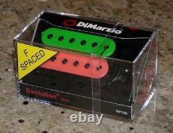 Dimarzio Pink & Green Steve Vai Evo Evolution Neck Pickup Dp158f Ibanez Jem Rg