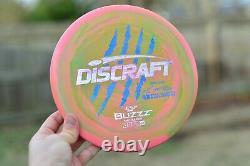 Discraft Paul Mcbeth 4x Buzzz Blood Splatter Sparkle Claw Sur Pastèque Swirly