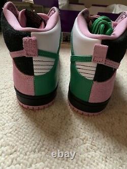 Ds Nike Dunk High Sb Pro Invert Celtic Pink Green Black Size 8.5 Rare