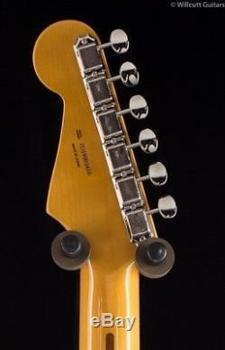 Fender Fsr 50 Traditionnelles Stratocaster Surf Vert Avec Rayures Roses Shell (410)