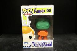 Figurine Funko Pop En Vinyle 2012 Funko Freddy Tête Verte Prototype Couronne Rose # 00
