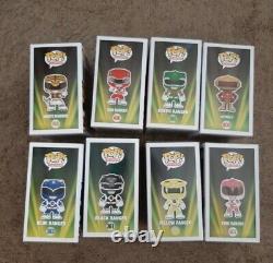 Funko Pop Power Rangers Alpha 5, Blanc, Rouge, Vert, Bleu, Noir, Jaune, Rose