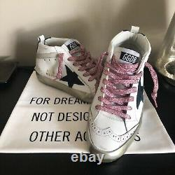 Gooden Goose Rose Or Et Green MID Star (taille 37)