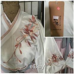 Hanfu Ensemble Broderie Chinoise Quju Ruqun Shirt Jupe Ceinture Jaune Blanc Rose Vert