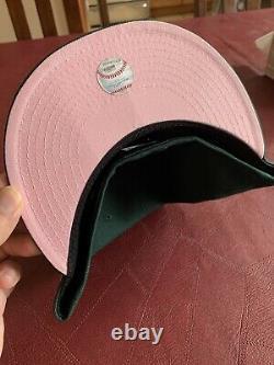 Hat Club Exclusive La Dodgers World Series Vert Et Rose
