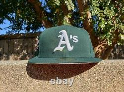 Hat Club Exclusive Nouvelle Ère 5950 Oakland Athletics A's Green And Pink Uv Cap