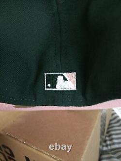 Hat Club Exclusive Oeufs Verts Et Jambon Rose Uv 7 1/2 Sox Blanc Neuf Avec Épingle