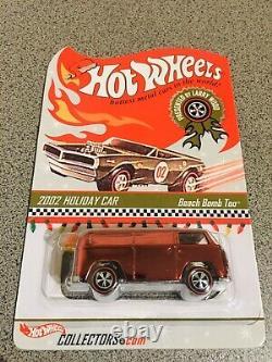 Hot Wheels 2002 Location De Voiture Rlc Exclusive Beach Bomb Trop Pair Vert Et Rose