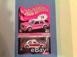 Hot Wheels 2020 Nationals 71 Datsun 510 Finale Car, Rlc Rose, Or, Vert &