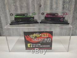 Hot Wheels Japon 55 Panel Chevy 2008 Convention Rose Et Vert