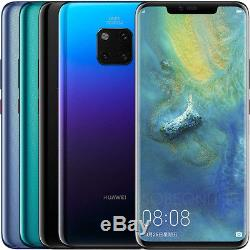 Huawei Mate 20 Pro Lya-l29 128 Go (usine Déverrouillée) 6.39 Bleu Gris Moka Rose