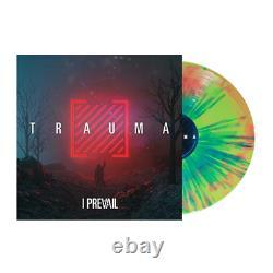 I Prevail Trauma Exclusive Tour Edition Green Pink Blue Splatter Vinyl Lp