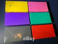 Jaune Rose Vert Gameboy Pocket Rouge Violet Noir Import Japonais Neuf Dans La Boîte