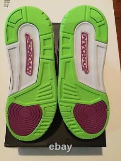 Jordan Hommes Vol 45 High 616816 029 Bel Air Pink Blue Black Green Nike White