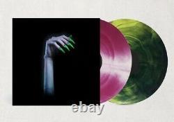 Kim Petras Désactiver La Lumière Galaxy-effet Vert Et Rose Vinyle (cover Vg)