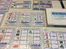 Les 3 Kits De Langues Rose, Bleu Et Vert Montessori-