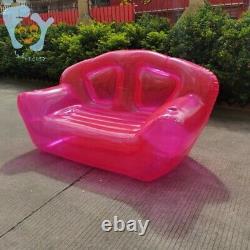 Lit Gonflable De Chaise D'air De Bulle Verte Paresseuse De Sofa De Double Personne