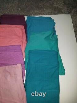 Lot 10 Nouveau Lularoe Os Un Leggings Taille Solide Vert Bleu Violet Rose Unicorn C