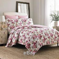 Magnifique Cottage Chic Rose Blanc Violet Rouge Violet Vert Lilas Rose Édredon