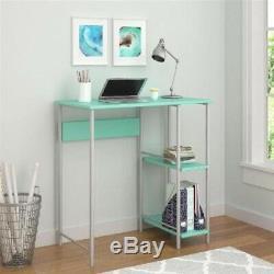 Mainstay Bureau Bureau Et Chaise Combo Bleu, Bleu Gris, Blanc, Rose Et Vert