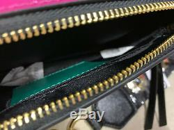 Marc Jacobs Boutons Snapshot Camera Bag Vert Bleu Rose Authentique Crossbody