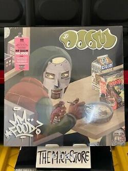 Mf Doom MM Food Pink & Green Colored Vinyl New Sealed 2lp Madvillain Ship Asap