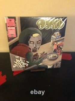Mf Doom Mm. Food Green Pink Colored Vinyl Lp Record Brand New Sealed 2020