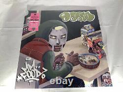 Mf Doom Mm. Food Green & Pink Custom Double Vinyl Record Nouveau