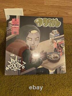 Mf Doom Mm. Food Limited Green & Pink 2xlp Vinyl Viktor Vaughn Nouveau Scellé