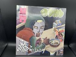 Mf Doom Mm. Nourriture Rose/vert Couleur Vinyl 2xlp Tip-on Jacket Brand New