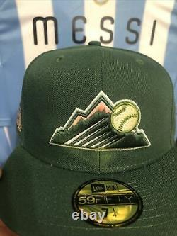 Myfitteds Magic Treehouse Colorado Rockies 7 1/4 Rose Uv 1995 Coors Field Green