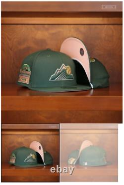 Myfitteds Magic Treehouse Colorado Rockies 7 3/8 Rose Uv 1995 Coors Field Green